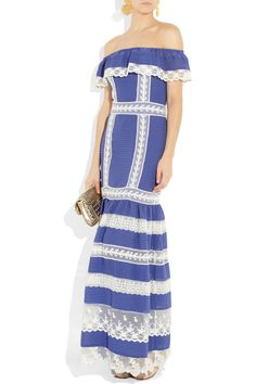 Romantic look by #Temperley, pair it with some bright statement jewelry! - #JetsetterCurator