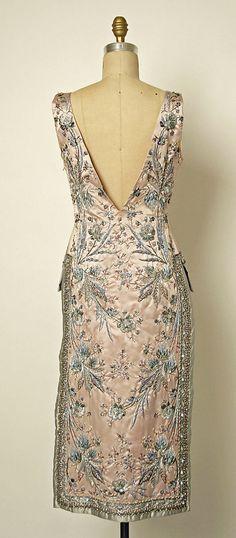 Jean Desses late 1950's cocktail dress