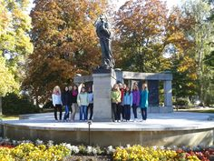 John Hus statue and park.