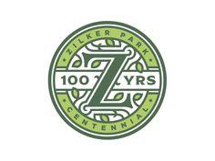 Zilker Park 100 Year Anniversary Logo by Ben Harman #Design Popular #Dribbble #shots