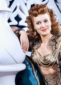 Maureen O'Hara,Sinbad the Sailor (1947).