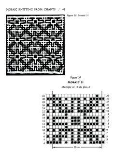 Mosaic Knitting Barbara G. Walker (Lenivii gakkard) Mosaic Knitting Barbara G. Walker (Lenivii gakkard) #48