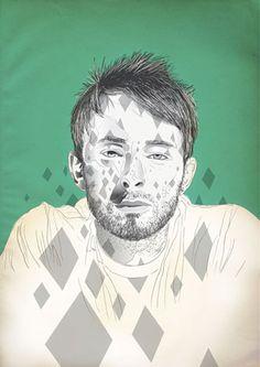 Raid71 - Thom Yorke <3