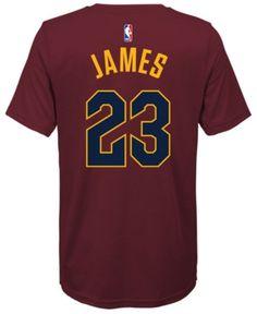 e4158ca1e5de Nike Lebron James Cleveland Cavaliers Icon Name   Number T-Shirt