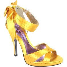 Luichiny Gal Lop L104109 Yellow Satin