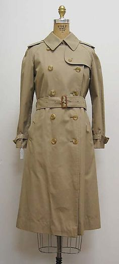 0dbe4fc9bf4 Burberry trench coat. 1970s. Trench Coat Men
