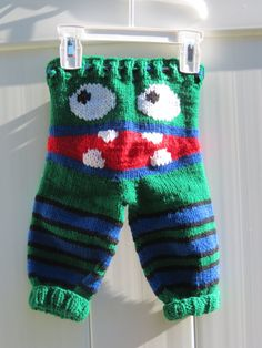 Monster Pants Newborn Monster Pants Knit Pants by RhondasReborns Knit Pants, Baby Knitting, Trending Outfits, Handmade Gifts, Crafts, Clothes, Etsy, Tejidos, Kid Craft Gifts