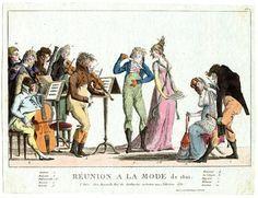 Réunion à la mode de 1801