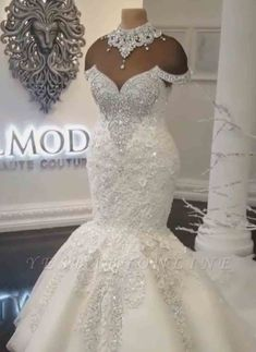 Luxury Off-the-Shoulder Mermaid Wedding Dresses Cheap Wedding Dresses Uk, How To Dress For A Wedding, Western Wedding Dresses, Fit And Flare Wedding Dress, Gorgeous Wedding Dress, Princess Wedding Dresses, Wedding Dresses Plus Size, Wedding Dress Shopping, Bridal Dresses