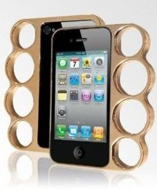 Knuckle Bumper for iPhone 5 & 5S from shopbob