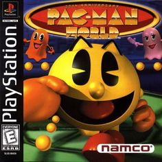 Get infinite continues in Pac-Man World with cheats codes for the original PlayStation. Beat every level to unlock more Pac-Man secrets. Play Stations, Used Video Games, Classic Video Games, Pac Man, 3d Realms, Namco Museum, Pc Engine, Video Game Collection, Retro Gamer