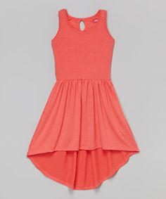 Look at this Pink Tuba Hi-Low Dress - Toddler & Girls on #zulily today!