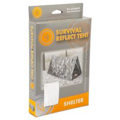 Ultimate Survival Technologies Reflective Emergency Tent Made of Highly Reflective, Highly Visible Material - 20-190-1500 - 812713016694