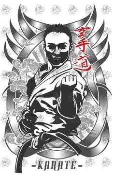 JUJUTSU JU-JITSU JIU-JITSU JAPAN NIPPON MARTIAL ART T-SHIRT Silkscreen