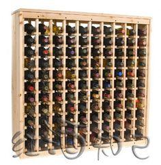 Pas cher En Bois massif Casier à Vin Européen Et Américain Professionnel En Bois Casier à Vin, Acheter  Casier à vin de qualité directement des fournisseurs de Chine:européen et Américain professionnel vin rack,peut stocker 110 bouteilles de vin rouge, (dix vertical, 11 bouteilles par