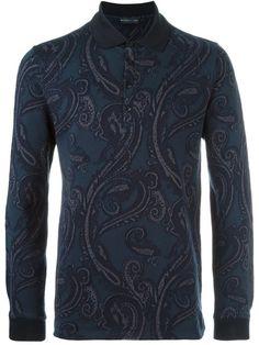 ETRO Paisley Polo Shirt. #etro #cloth #shirt