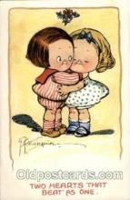 Two hearts that beat as one Artist Wiederseim / Drayton Postcard Post Card