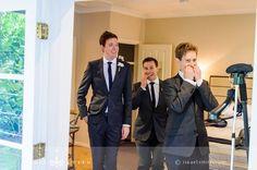 Daytime wedding suits charcoal