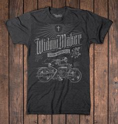 Widow Maker Motorcycles by Aaron von Freter, via Behance