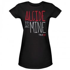 True Blood Alcide Is Mine Women's T-Shirt