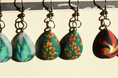 Muse, Drop Earrings, Stone, Holidays, Jewelry, Summer, Fimo, Rock, Holidays Events