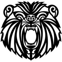 I think I'm in love with this design from the Silhouette Design Store! Tribal Bear Tattoo, Bear Tattoos, Tribal Tattoos, Cross Tattoos, Marquesan Tattoos, Bear Design, Doodle Drawings, Couple Tattoos, Silhouette Design