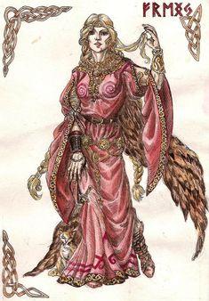 Freya | Nordic Wiccan: Freya