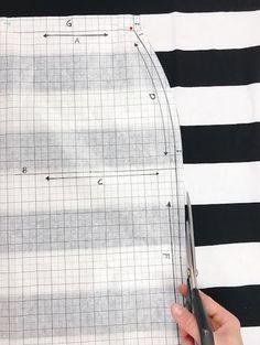snel passend rokje patroon