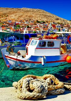 Colorful Halki island, Greece   25 Gorgeous Pictures Of Greece That Will Take Your Breath Away