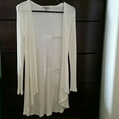 Long sleeve cardigan PERFECT CONDITION never used  Very soft Charlotte Russe Sweaters Cardigans
