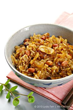 My Kitchen: Glutinous Rice [It's rice time! Home Recipes, Asian Recipes, Dinner Recipes, Cooking Recipes, Ethnic Recipes, Chinese Recipes, Chinese Food, Dinner Ideas, Asian Snacks
