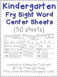 1000+ images about Fry sight words on Pinterest   Fry Sight Words ...