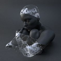 Multiverse (Materialized v02) (detail) by Adam Martinakis, 2014