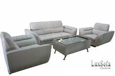 Sofa gia đình hiện đại màu trắng