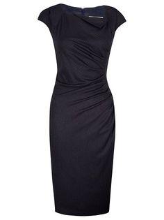 L.K. Bennett Davina Dress, Navy