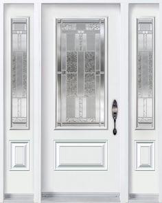 Front door.. but dark brown with transom