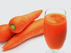 Carrot juice plays the most important part in an infant's supply of vitamin A. When carrot juice is consumed jointly with milk