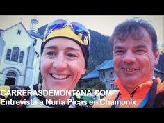 Nuria Picas repasa material y estrategia UTMB 2015 con Mayayo desde Chamonix - YouTube