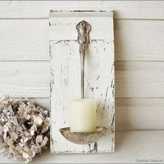 Cute way to reuse a gravy ladle