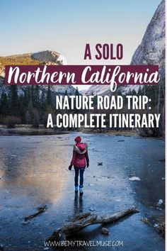 Planning a nature road trip along Northern California? Here's a complete road trip itinerary with 10 amazing stops including edwood National and State Parks, Lake Almanor, Lake Tahoe, Desolation Wilderness, Yosemite National Park and more. Insider tips, lodging information and activities on each stop included! #NorthernCalifornia