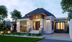 Jasa Arsitek Jimbaran, Badung, Bali Desain Rumah Bapak Made Minimalist House Design, Minimalist Home, Philippines House Design, Philippine Houses, Bali House, Modern Bungalow House, 3d Video, Jimbaran, Villa Design