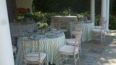 Remsenburg Summer Party - Wedding Table Ideas