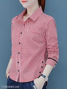 Autumn Spring Polyester Women Fold-Over Collar Single Breasted Striped Long Sleeve Blouses #berrylook   #fashion  #styles  #clothes #fashionista ,berrylook clothing, berrylook shoes #berrylookviews, #shopping, shirt, My style tee,short sleeve,dip hem,Cute clothes,World fashion,Online shopping ,Women s fashion,berrylook dresses, berrylook coats , womens clothes, womens clothes online, online shopping, womens clothing