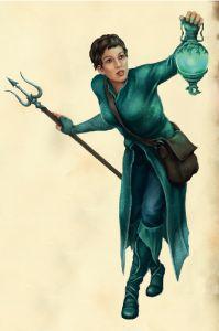 Die Efferdgeweihte - Ein neuer Charakter für die Helden und Schurken Aventuriens