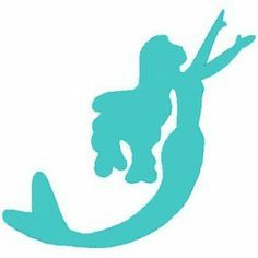 simple mermaid outline - Google Search