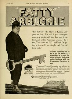 Roscoe Arbuckle, News Studio, Moving Pictures, Silent Film, Classic Hollywood, Old Photos, Cover Art, Give It To Me, Sayings