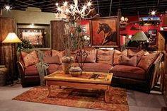 love this western decor!!!.