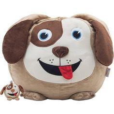 Dawson The Dog with Li'l Buddy Bean Bag from Cool Kids' Room: Bedding & Decor on Gilt Dog Bean Bag, Bean Bag For 2, 3 Bean Bags, Small Bean Bags, Small Bean Bag Chairs, Bean Bag Sofa, Football Bean Bag, Toddler Bean Bag Chair, Tela