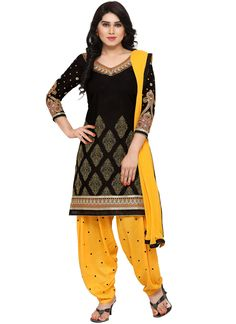 or new in young and in have a large varieties of patiala or punjabi collection Black Punjabi Suit, Punjabi Suits, Indian Designer Outfits, Indian Outfits, Indian Dresses, Suit Fashion, Fashion Pants, Patiala Salwar Suits, Indian Party Wear