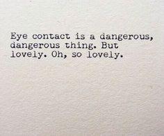 #Eye contact